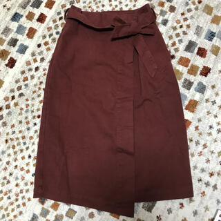 オゾック(OZOC)のOZOC 赤スカート(スカート)