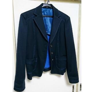 DAKS - 美品DAKSダックスネイビージャケット春夏向き40サイズLサイズ11号くらい