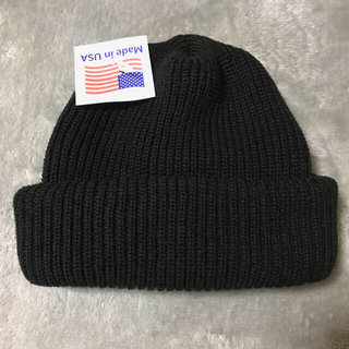 ROTHCO - 新品 Rothco ニットキャップ made in USA ブラック