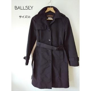 ボールジィ(Ballsey)のサイズ38【BALLSEY ボールジー】黒トレンチコート(トレンチコート)