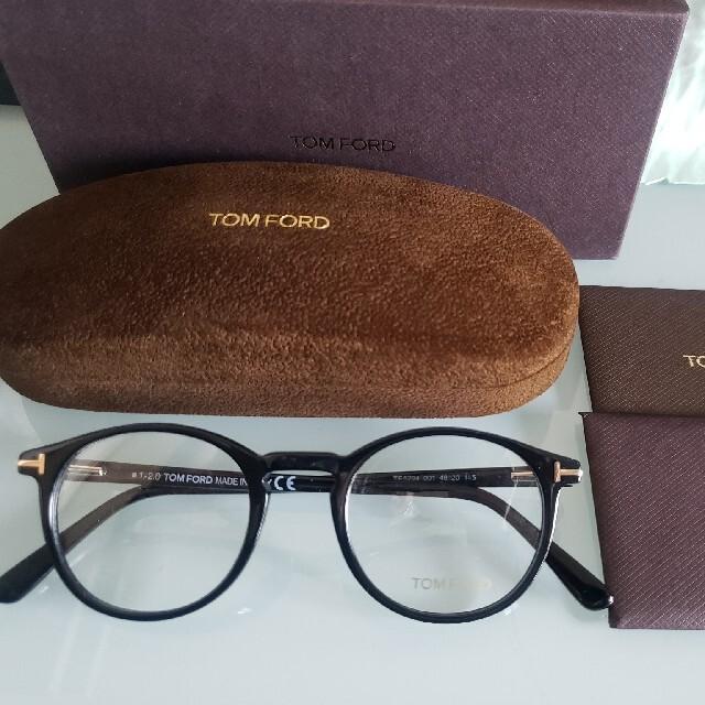 TOM FORD(トムフォード)の正規 TOMFORD トムフォード TF5294 001 メガネフレーム 新品 レディースのファッション小物(サングラス/メガネ)の商品写真