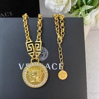 VERSACE - 即納未使用品 金色  Versace 男女兼用 ネックレス 高級な