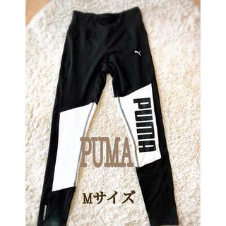 PUMA - PUMA(プーマ) FAVORITE ロゴ7/8タイツ  レディース M