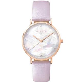 ジルバイジルスチュアート(JILL by JILLSTUART)のアレットブラン Lily ホワイト パールピンク 腕時計(腕時計)