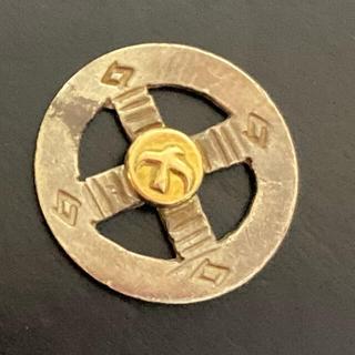 goro's - ゴローズ 金印付きホイールペンダント