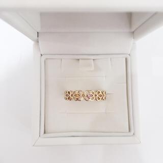 ヨンドシー(4℃)の4℃ K10イエローゴールド リング 新品(リング(指輪))