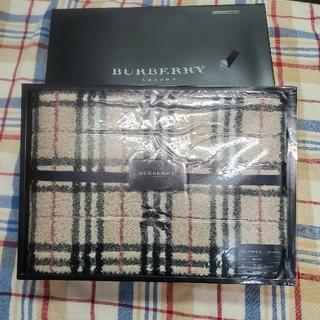 BURBERRY - バーバリー バスタオル 未使用 値下げ クーポンでお得に