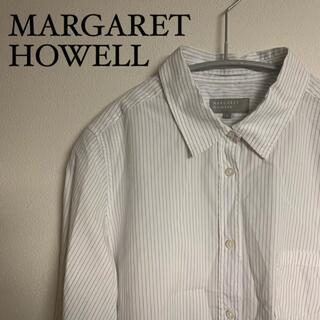 MARGARET HOWELL - MARGARET HOWELL マーガレットハウエル レディース シャツ 白 S
