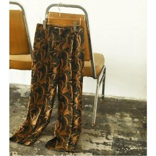 TODAYFUL - Jacquard Slit Trousers 36 新品
