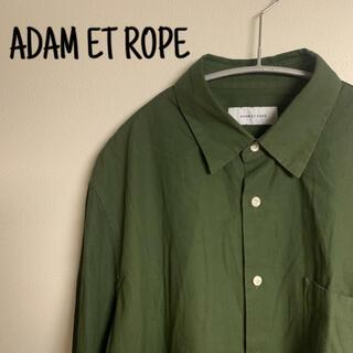 アダムエロぺ(Adam et Rope')のADAM ET ROPE アダムエロペ シャツ カーキ メンズ L(シャツ)