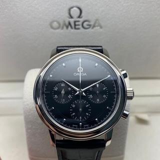 OMEGA - 美品・希少品 オメガ デ・ビル プレステージ クロノ 4840.51 腕時計