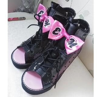EARTHMAGIC - ☆新品 EARTHMAGIC ブーツ サンダル 22センチ☆