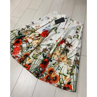 ZARA - 最終値下げ 新品 タグ付き ザラ ボタニカル ロングスカート L