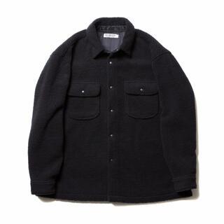 クーティー(COOTIE)のサイズXL COOTIE Boa CPO Jacket ブラック ボア(ブルゾン)