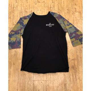 ハーレー(Hurley)のHURLEYハーレー 7分丈 ラグランtee Lサイズ 新品未使用 送料無料(Tシャツ/カットソー(七分/長袖))