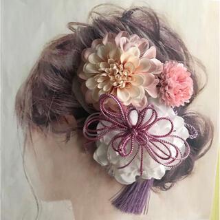 愛らしい髪かざり 袴 卒業式 結婚式 成人式 髪飾り 成人式髪飾り 和装