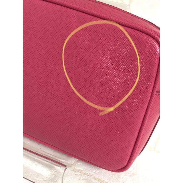 PRADA(プラダ)の⭐️PRADA プラダ サフィアーノ レザーミニショルダーバッグ ピンク色⭐️ レディースのバッグ(ショルダーバッグ)の商品写真