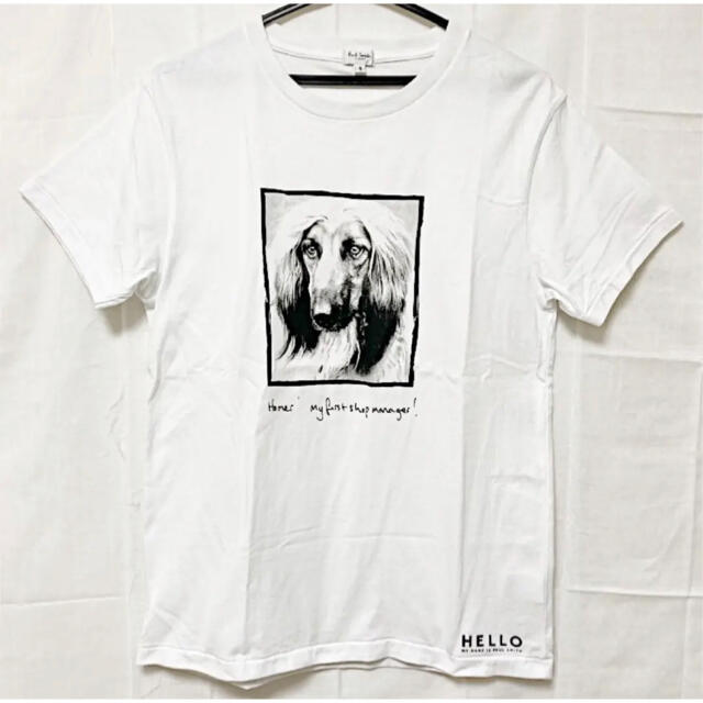 Paul Smith(ポールスミス)の【希少】Paul Smith プリントTシャツ ポール・スミス展限定品 犬 メンズのトップス(Tシャツ/カットソー(半袖/袖なし))の商品写真