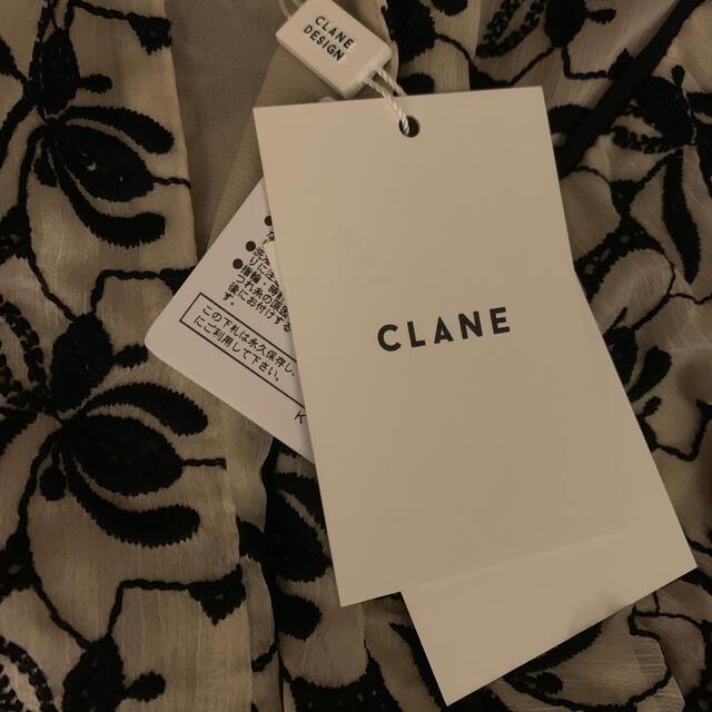 STUDIOUS(ステュディオス)のCLANE クラネ FLOWER LACE ARCH LINE BLOUSE レディースのトップス(シャツ/ブラウス(長袖/七分))の商品写真