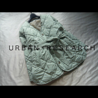 URBAN RESEARCH -  ♪春色♪ URBAN RESEARCH 中綿キルティングコート