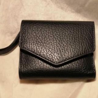 Maison Margiela メゾンマルジェラ レザー 三つ折り財布 ブラック