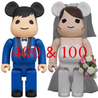 MEDICOM TOY - BE@RBRICK グリーティング 結婚 4 PLUS 100% 400%