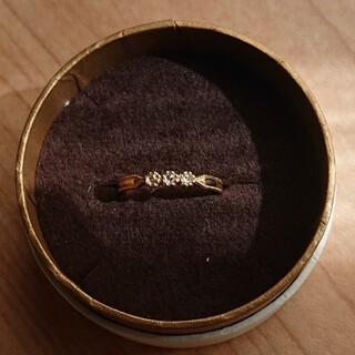 ete - ete k18 ローズカットダイヤモンドリング