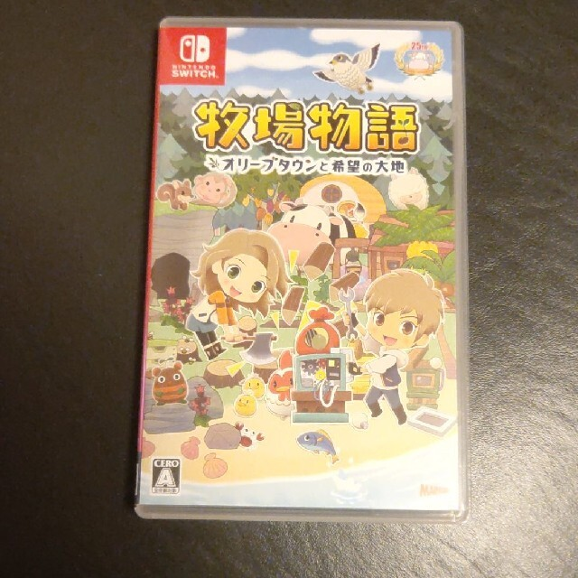 Nintendo Switch(ニンテンドースイッチ)の牧場物語 オリーブタウンと希望の大地 Switch エンタメ/ホビーのゲームソフト/ゲーム機本体(家庭用ゲームソフト)の商品写真