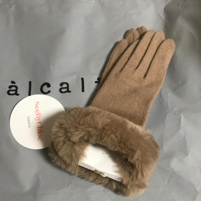 Chloe(クロエ)の新品、未使用  手袋 アームカバー レディースのファッション小物(手袋)の商品写真