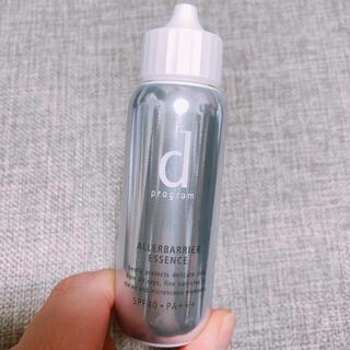 ディープログラム(d program)のd プログラム アレルバリア エッセンス 40ml 敏感肌用 日中美容液(化粧下地)