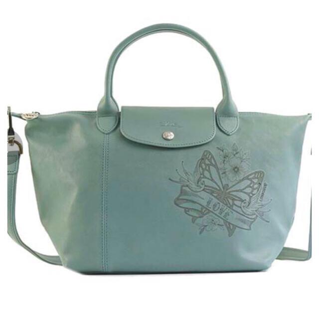 LONGCHAMP(ロンシャン)の【Longchamp】 ル プリアージュ レザー タトゥー 2way レディースのバッグ(ハンドバッグ)の商品写真