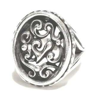 エムズコレクション(M's collection)のエムズコレクション 透かし彫り デザイン シルバー925 シルバーリング 指輪(リング(指輪))