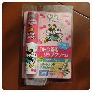 DHC - *新品・未使用*【DHC】薬用リップクリーム 1.5g ミニーマウス 数量限定品