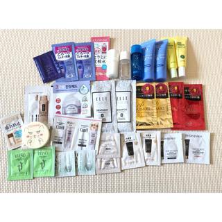 シセイドウ(SHISEIDO (資生堂))の試供品まとめ売り 化粧水 化粧下地 美容液 シャンプー トリートメント韓国コスメ(サンプル/トライアルキット)