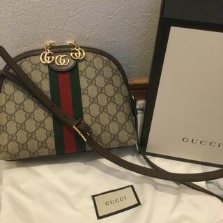 Gucci - GUCCI グッチ オフィディア シェリーライン ドーム ショルダーバッグ 美品