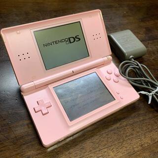 ニンテンドーDS - Nintendo DS lite 本体 ピンク ACアダプター付き
