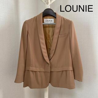 LOUNIE - LOUNIE ルーニィ テーラードジャケット ベージュ 38 M