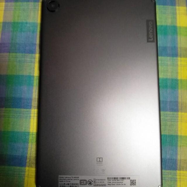 Lenovo(レノボ)のAndroid10搭載  Lenovo レノボ tabM8  おまけつき スマホ/家電/カメラのPC/タブレット(タブレット)の商品写真