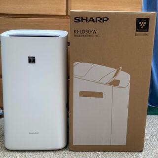 SHARP - SHARP 除加湿空気清浄機 KI-LD50-W 美中古品