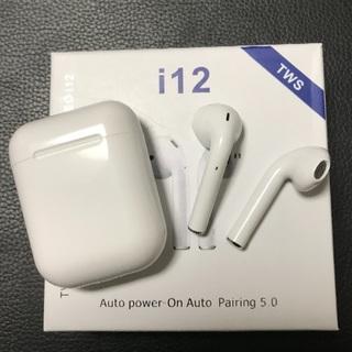 iPhone - ワイヤレスイヤホン iPhone イヤホン Bluetooth i12