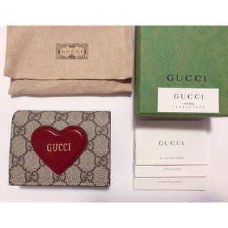 Gucci - GUCCI グッチ バレンタイン限定 ハート       ミニウォレット