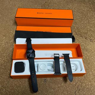 Apple Watch - アップルウォッチ エルメス 44mm  ブラック