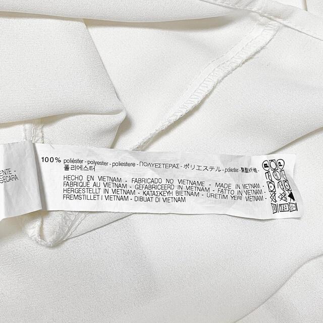 ZARA(ザラ)のZARA リボン付きフリルブラウス レディースのトップス(シャツ/ブラウス(長袖/七分))の商品写真