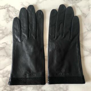 mila schon - ミラショーン 皮 手袋
