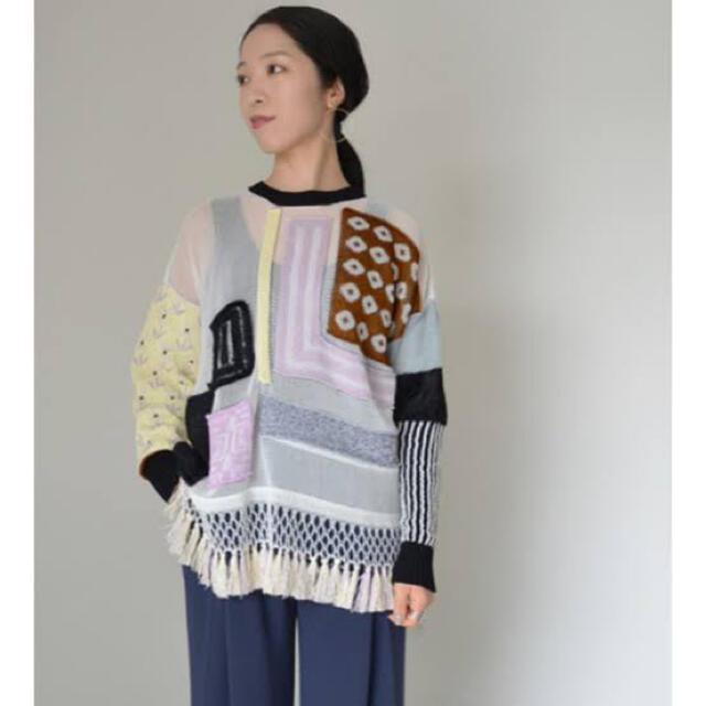 mame(マメ)のmame ニット 2019ss レディースのトップス(ニット/セーター)の商品写真