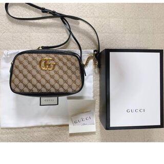 Gucci - GUCCI グッチ GGマーモント スモール ショルダーバッグ