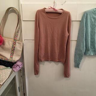 miumiu - miumiu cashmere silk knit.