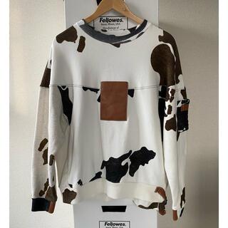 SUNSEA - SUNSEA 20aw 牛柄 cow スウェット トレーナー 2 M 20A07