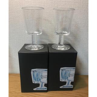 iittala - 新品未使用 辻和美 ファクトリーズーマー ガラス グラス 2点