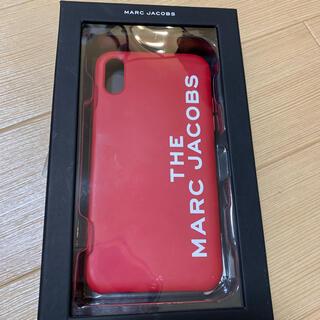 マークバイマークジェイコブス(MARC BY MARC JACOBS)のマークジェイコブス iPhonexrケース レッド(iPhoneケース)